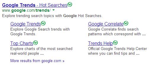 Google Trends - Google Keyword Tool
