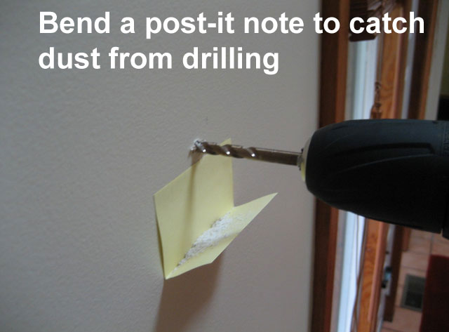drilling-a-hole life hacks