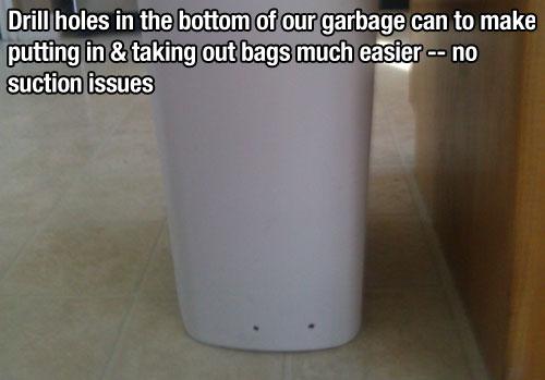 trashcan lifehacks