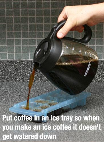 food coffee life hacks