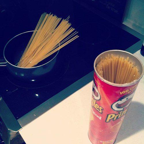 spaghetti food life hacks