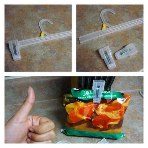 chip clip food life hack